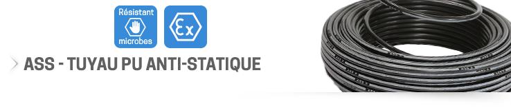 ASS - Tuyau PU anti-statique