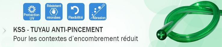 KSS - Tuyau PU anti-pincement innovant
